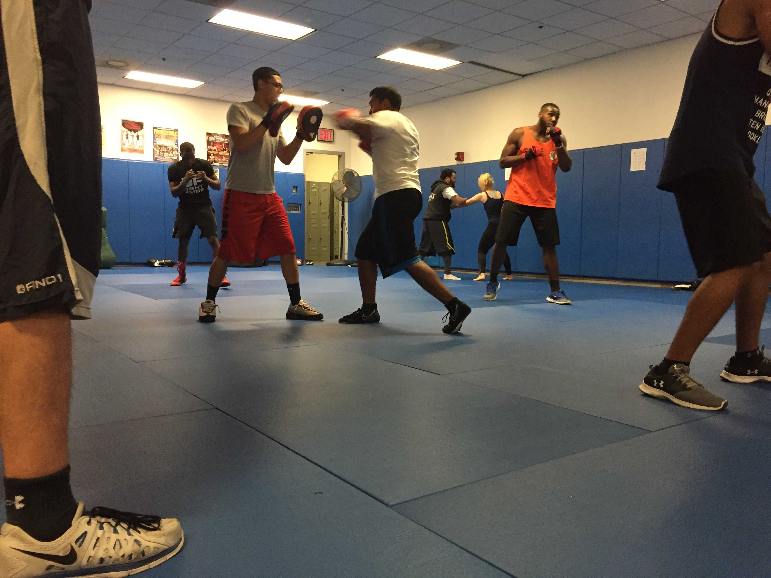 Beyond the Gloves: A look at the Boxing club