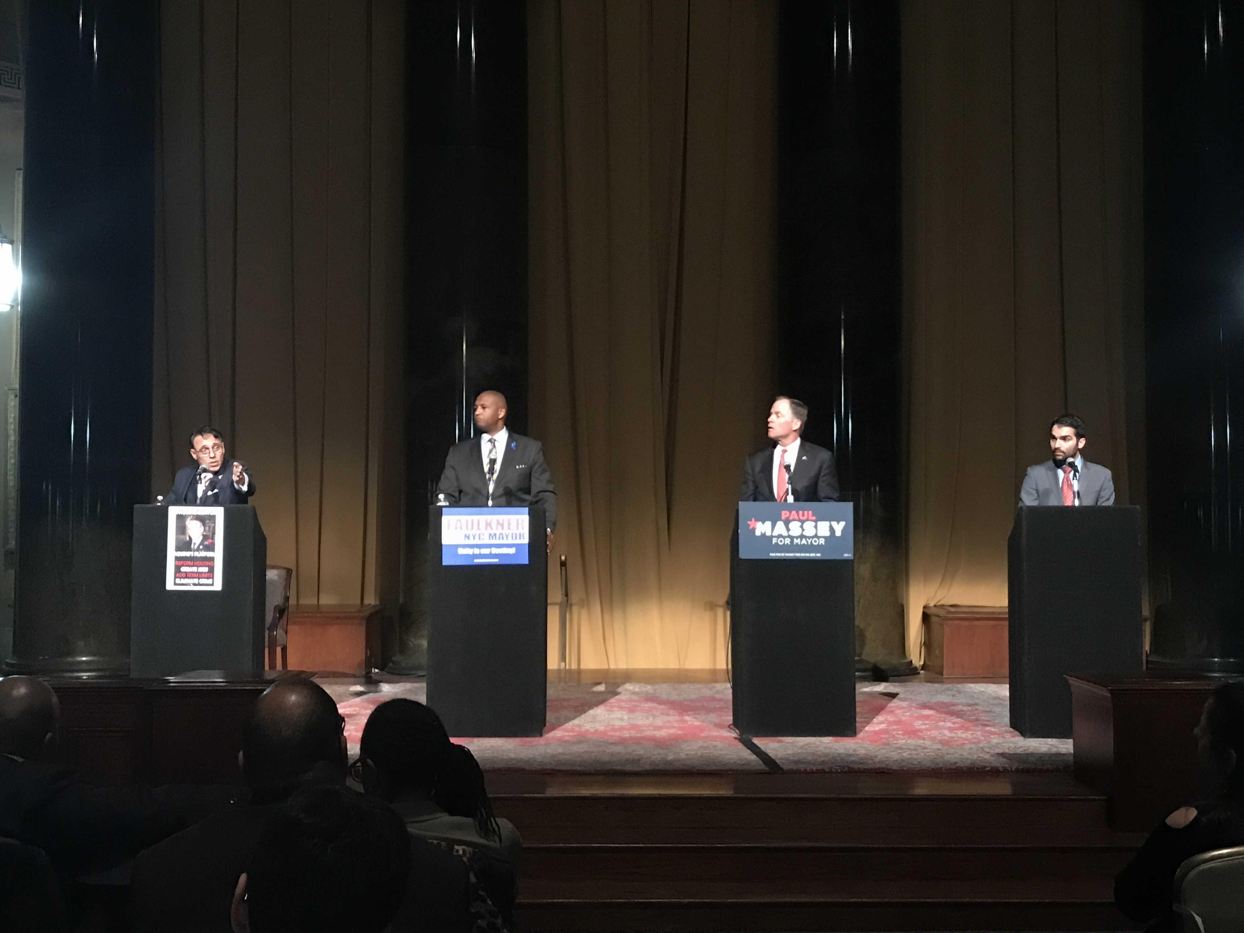 NYC Mayoral Forum: Republican Justice
