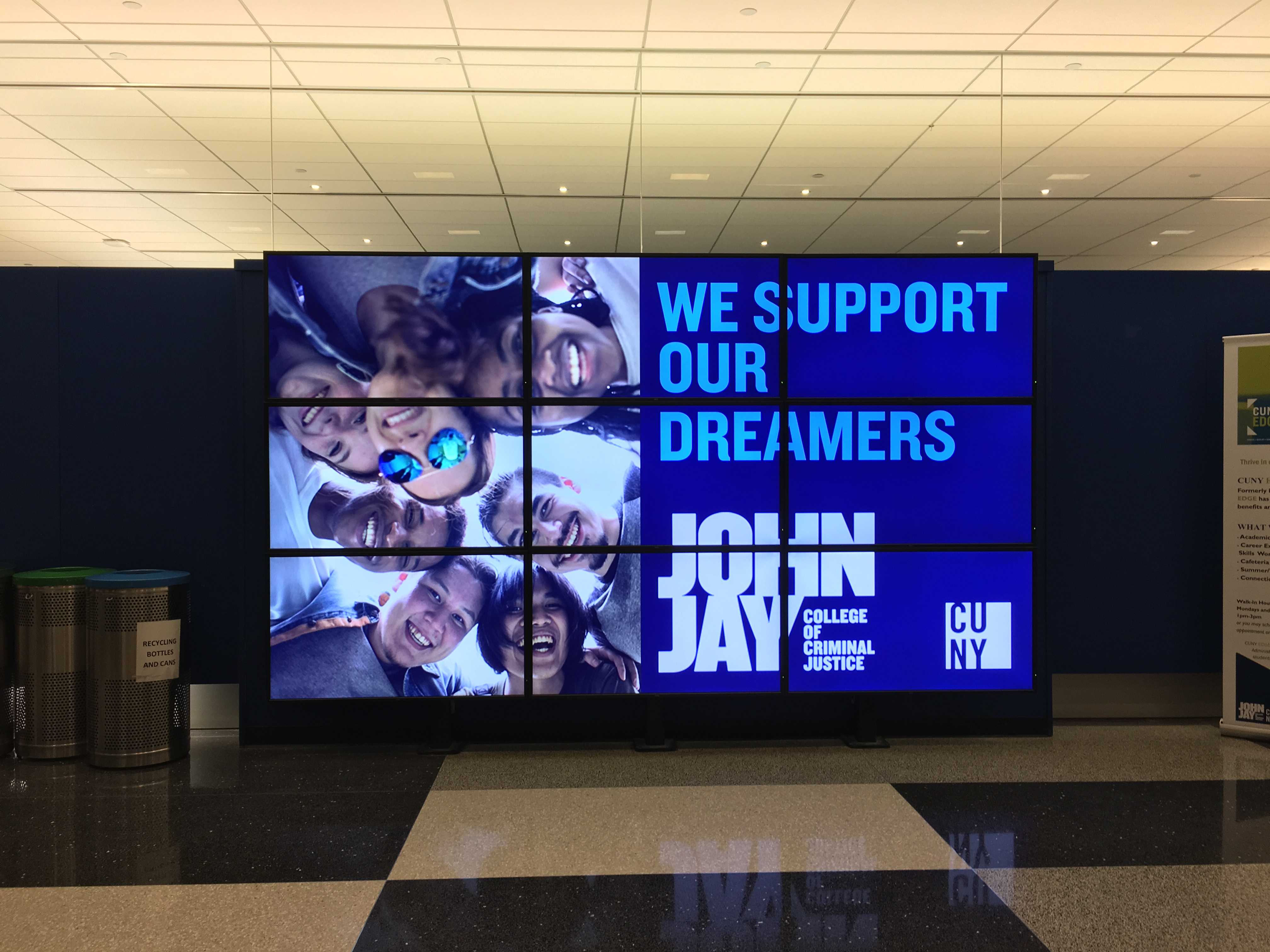 John Jay Supports Our DREAMers Photo: Emily Reyes