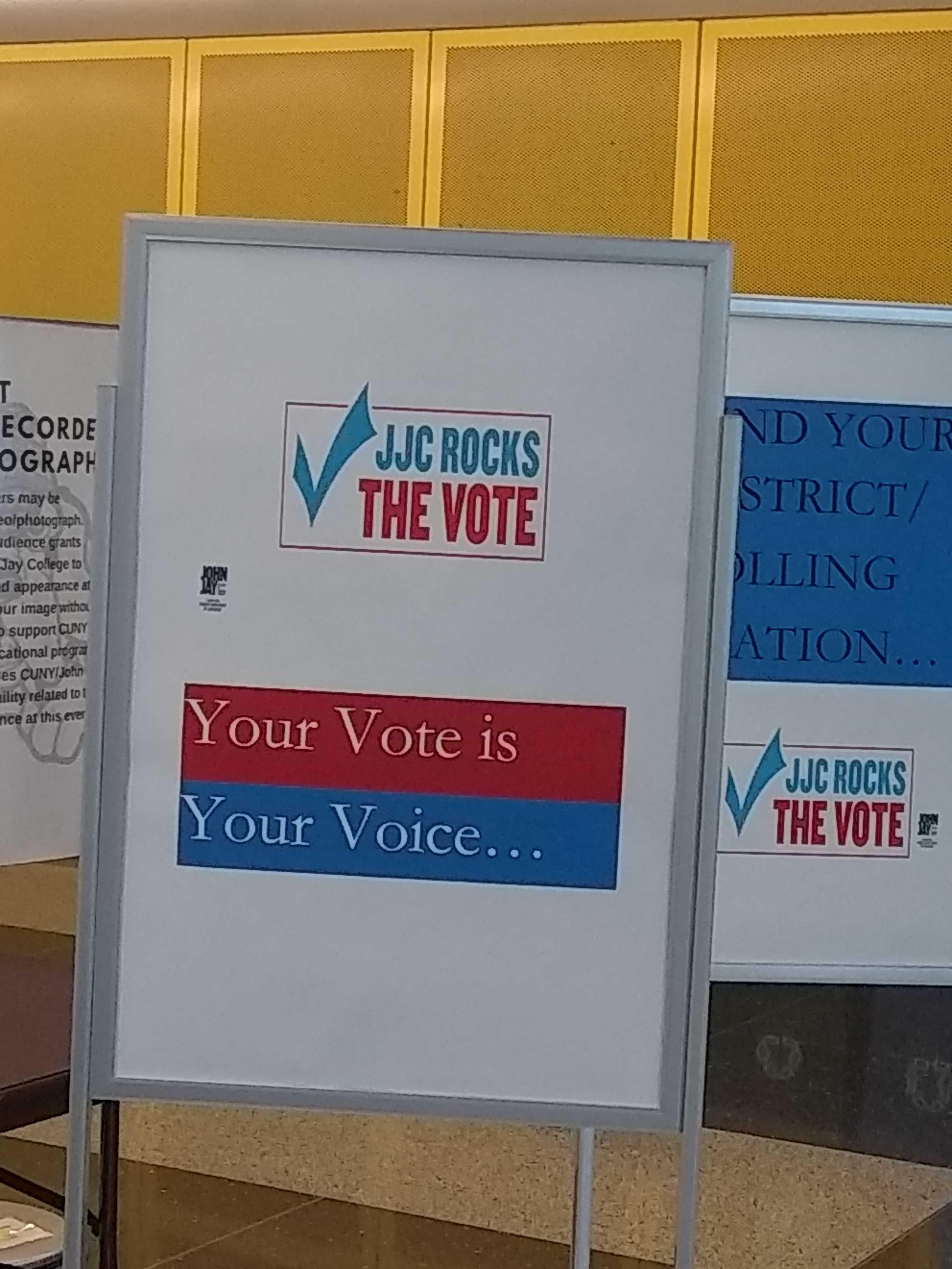 JJC Rocks The Vote Event