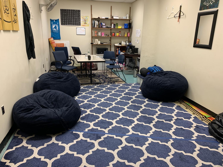 New Meditation Room in North Hall - Daisy Zuniga