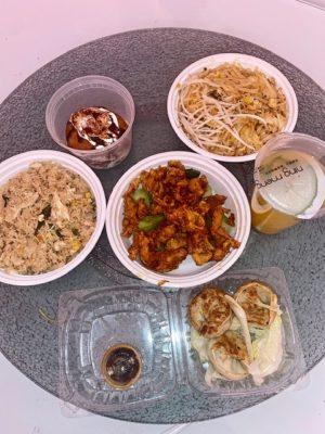 Food at Udom Thai